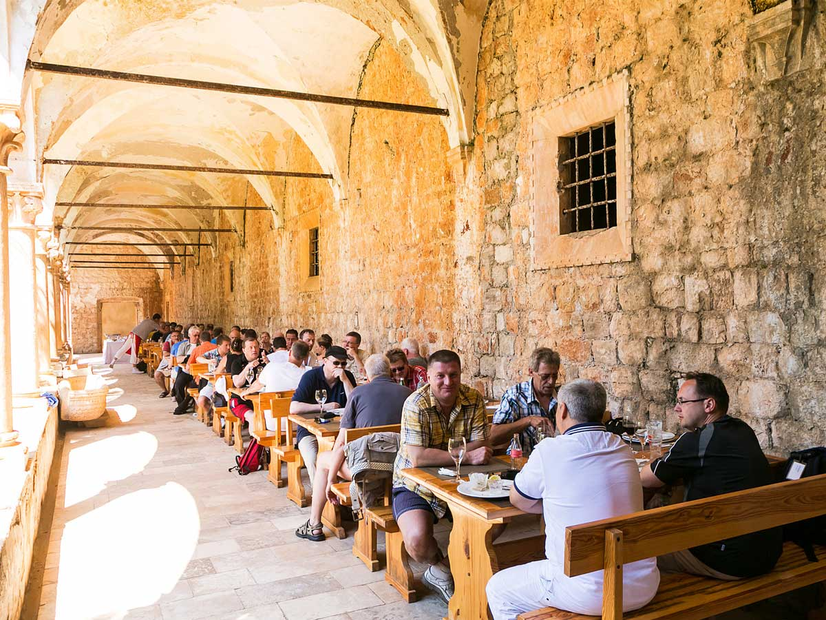 Incentivereise Dubrovnik Lunch