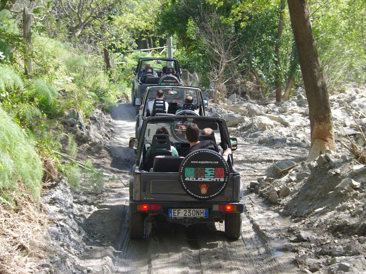 Jeep Tour Sizilien Incentive